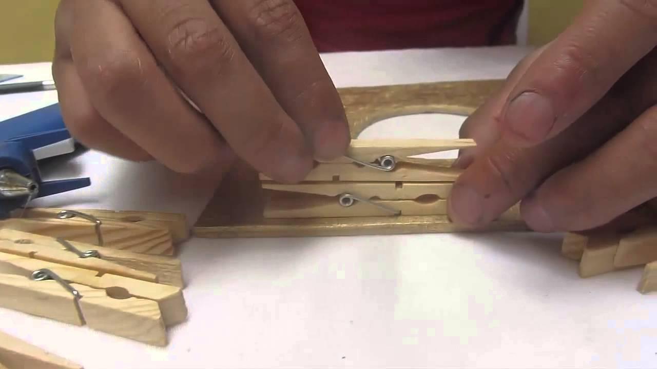 de hacer by Como ganchos una madera bace de Elmer lampara a fvbgymI76Y