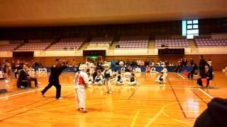 2015年3月7日神奈川防具空手道選手権  植松 仁(士流会)デビュー戦