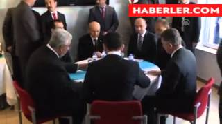 MHP Genel Başkanı Devlet Bahçeli, Mainz Ülkü Ocağını ziyaret ederek yetkililerle görüştü.
