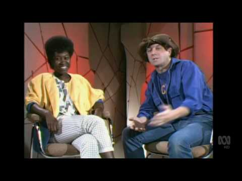 Countdown (Australia)- Molly Meldrum Interviews Joan Armatrading- August 28, 1983- Part 2