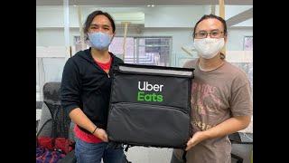 Uber Eatsのリュックの中身ってどうなってるの? 実際に買ったら高機能すぎて驚いた