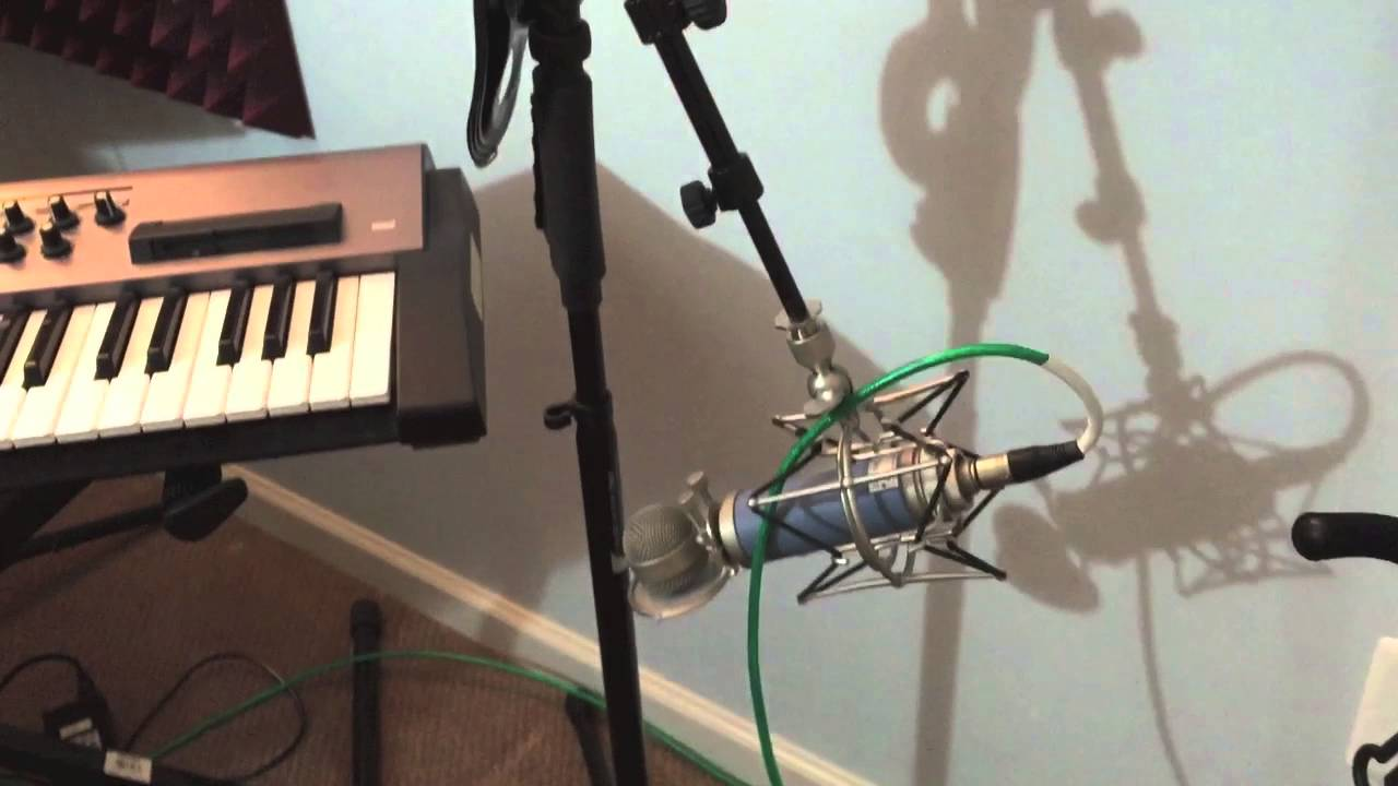 Simple Bedroom Recording Studio how to make a simple recording studio (from a bedroom) - youtube