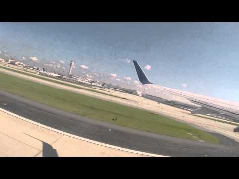 Delta 737-800 Takeoff from Hartsfield-Jackson Atlanta International Airport (ATL)