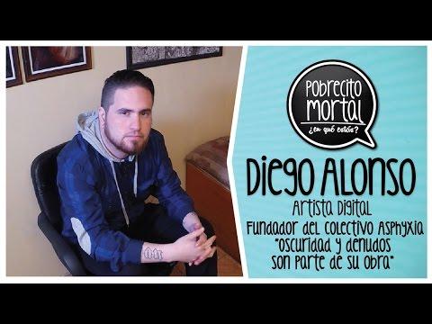 Diego Alonso Artista de lo Oscuro en Pobrecito Mortal
