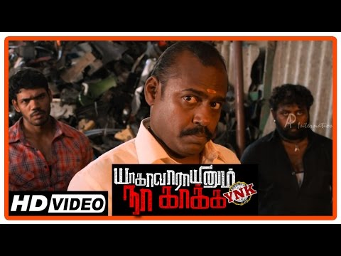 Yagavarayinum Naa Kaakka Movie   Fight Scene   Aadhi saves a person from thugs   Nikki Galrani from YouTube · Duration:  4 minutes 57 seconds