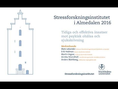 Tidiga och effektiva insatser mot psykisk ohälsa och sjukskrivning