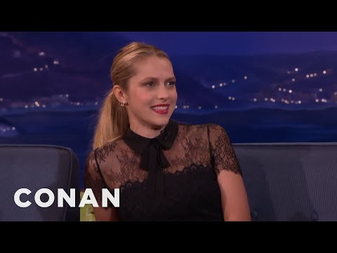Teresa Palmer: My Crush On Leonardo DiCaprio Ruined My Catholicism  - CONAN on TBS