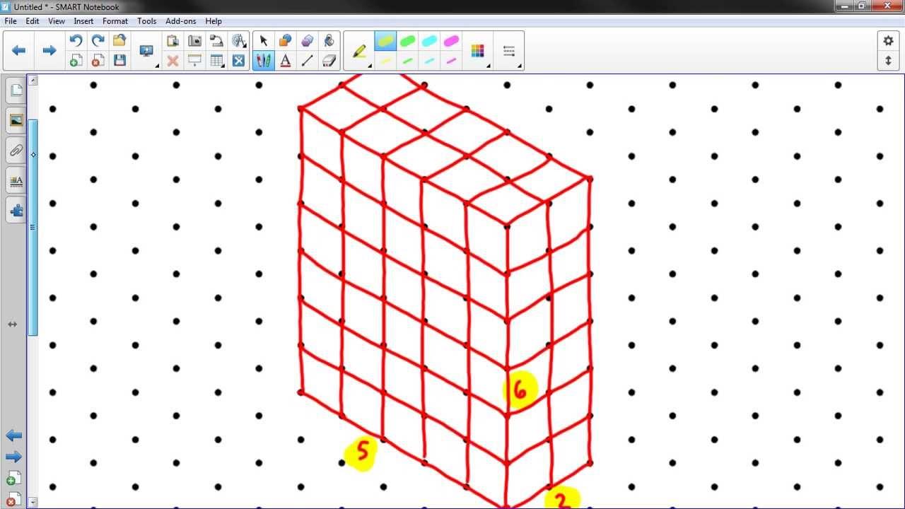 sketching rectangular prisms youtube