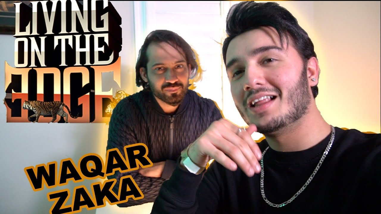 Playing Living On The Edge with WAQAR ZAKA (ft. Jafry House)