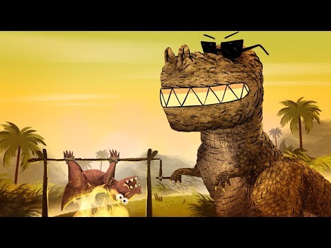 StoryBots   Dinosaur Songs: T-Rex, Velociraptor & more   Learn with music for kids