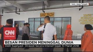 Gambar cover Besan Meninggal Dunia, Presiden Jokowi Bertolak ke Solo