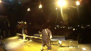 Noxa - Grind Virus (  Live On Java Rocking Land 2010 )