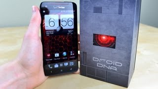 HTC Droid DNA Unboxing!