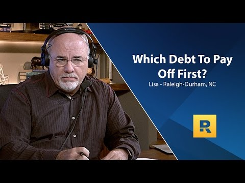Which Debt Do I Need To Pay Off First?