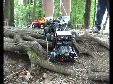 lego 8070 motorized instructions