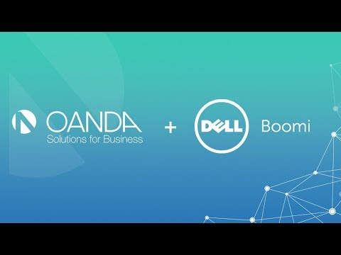 How to get OANDA foreign exchange rates with Dell Boomi Connector