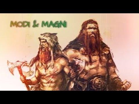 Kisah Modi dan Magni ( Mitologi Nordik )