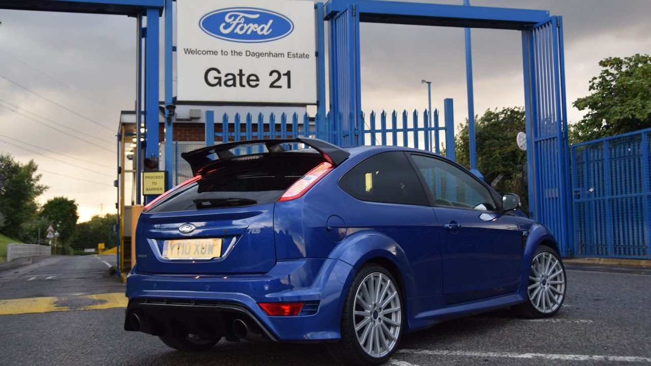 ford focus rs mk2 review hear the focus rs mk2 exhaust youtube. Black Bedroom Furniture Sets. Home Design Ideas