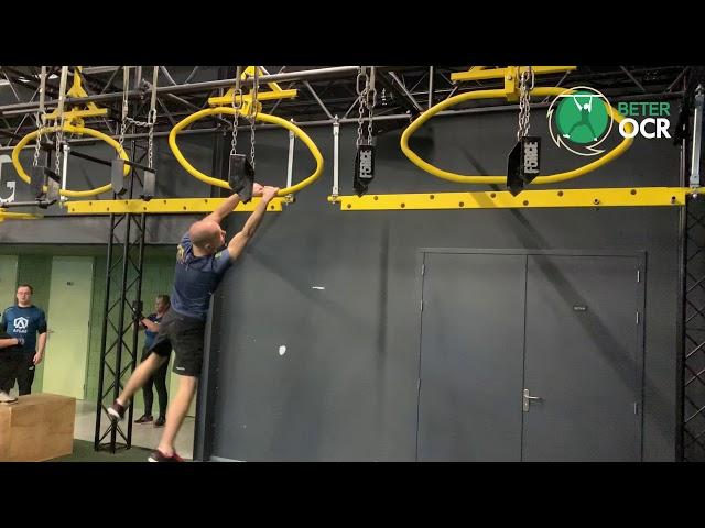 Moving Ovals Techniek zijwaarts