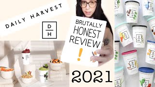 Daily Harvest HONEST review 2021 | Husband & Wife | IS IT WORTH IT?? DAILY HARVEST meal delivery kit
