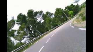 Frankreich 2010 - Salernes Aups - onboard