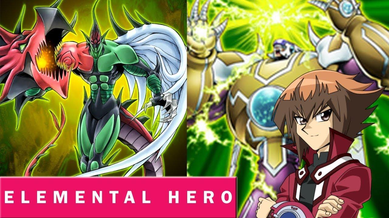 Yu-Gi-Oh! Duel Links - Elemental Hero Deck [ Hero Always Wins ]