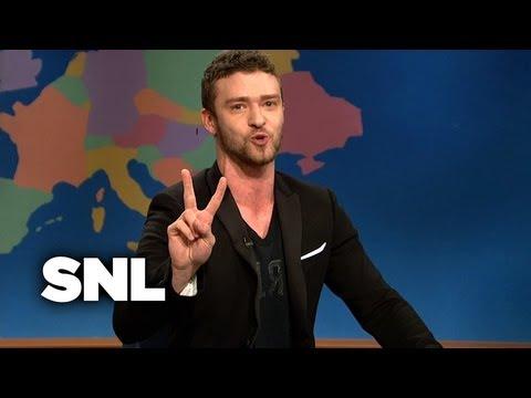 Update: Justin Timberlake - Saturday Night Live