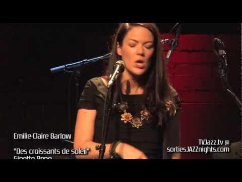 Emilie-Claire Barlow - Des croissants de soleil - TVJazz.tv