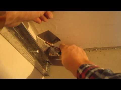 видео: Работа в квартире нового дома ( выровнить внутренний угол )