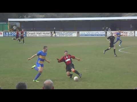 Romford 4-3 Hullbridge Sports.  Emirates FA Cup Preliminary Round.  Sun21Aug2016