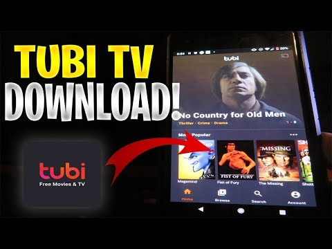 TUBI TV Download For Android APK/iOS IPhone 🔥 How To Get Tubi TV Free TV & Movies