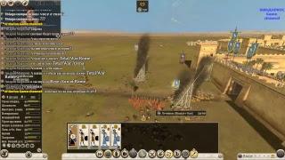 ROME TOTAL WAR 2 большая компания по сети с другом Колей 1х1(#6)