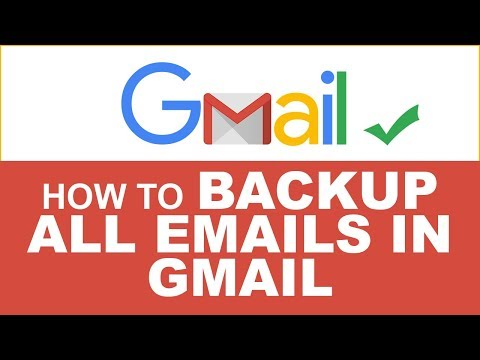 How to Download & Backup all Emails from Gmail on PC or Laptop | Backup All Emails from Gmail