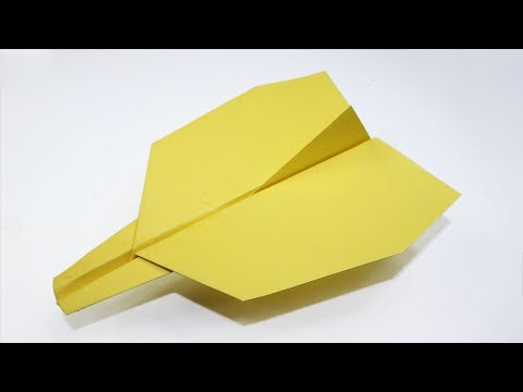 How to make Paper Glider That Flies Far - BEST Paper Airplanes in the world