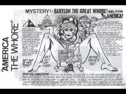 The Great Whore of Babylon of The Bible Is Obamaland, America, The U.S.A. God Will Destroy Us.!!!