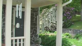 Woodstock Windsinger Chimes - The Quartet in Action