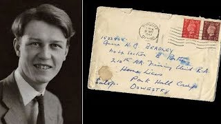 Undecoded Love Letter b/w two Gay in World War 2