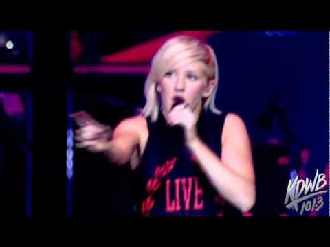 Ellie Goulding Performs 'Only You' at KDWB's Jingle Ball!