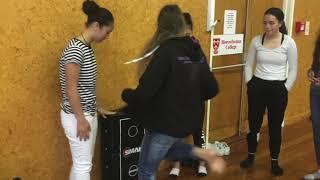Girls Self defence Horowhenua College 2018