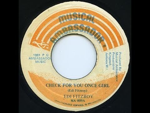 Edi Fitzroy - Check For You Once Girl ++