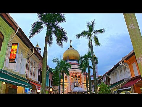 Arab Street and Haji Lane, Singapore
