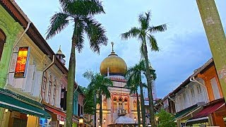 Arab Street and Haji Lane, Singapore
