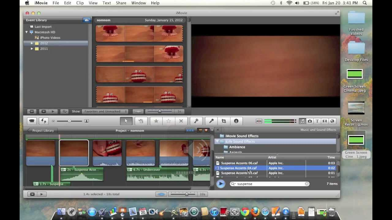 iMovie How To: Cinematic Movie Effect '11 in Under 1 Minute