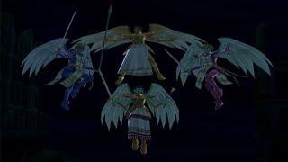 Shin Megami Tensei Digital Devil Saga 2 Boss Uriel, Raphael, Gabriel & Michael [HARD]