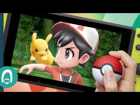 Hands On with Pokémon: Let's Go & The Poké Ball Plus for Nintendo Switch thumbnail