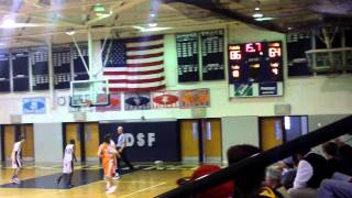 end of DSF Vs, WFS basketball game 2011