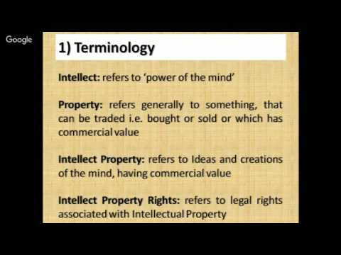 Intellectual Property Rights by Er Amardev Singh