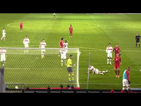 VFB Stuttgart - FC Bayern München 27.01.2013