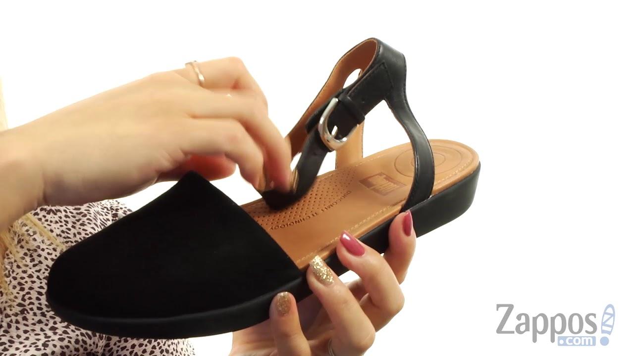 2cd538c7989 FitFlop Cova Closed Toe Sandals SKU  9020942 - YouTube