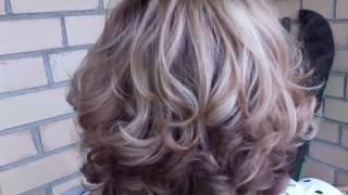 Мелирование волос. Магнитогорск